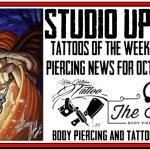 Tattoos of the Week & Body Piercing News for Oct. 4th, 2018